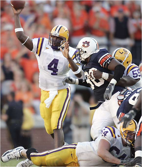 In five of the last six seasons (including the last three), the winner of this game went on to play in the SEC championship. This year's matchup pits quite possibly the best two teams in the SEC -- No. 3 Auburn and No. 6 LSU -- so it's easy to see the trend continuing. Auburn holds an advantage though, as the home team has won the last six games of this rivalry.