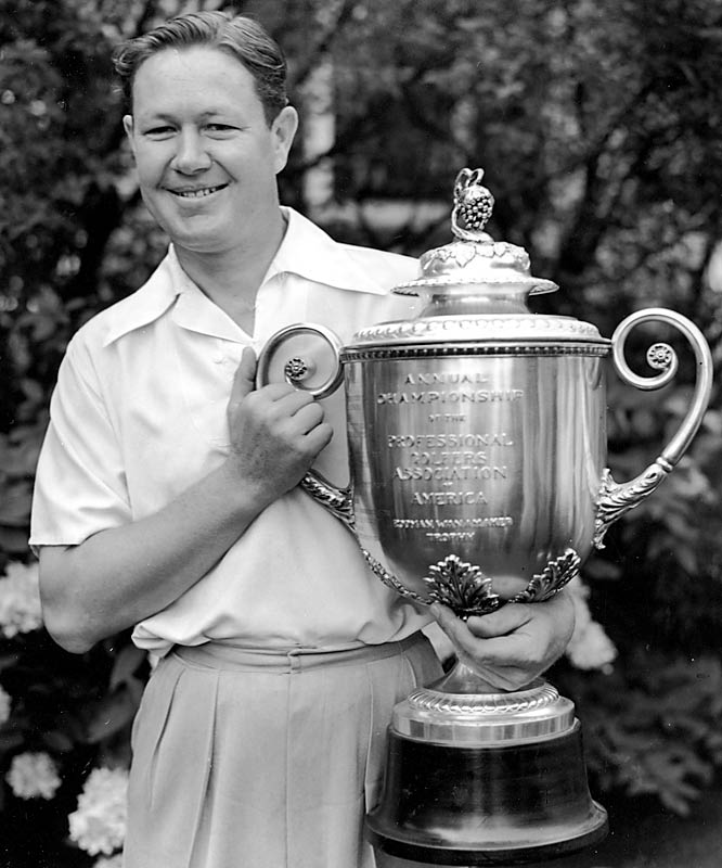 Byron Nelson will be remembered for his record 11 straight Tour wins in 1945, but don't forget that he also won five majors, including the 1940 PGA Championship.