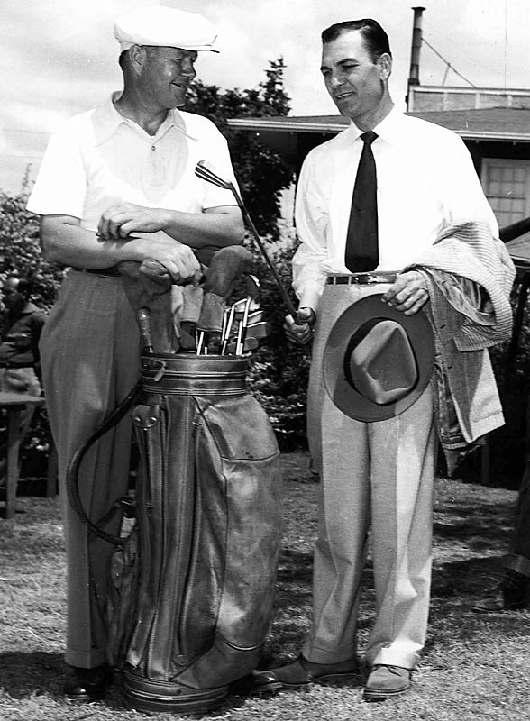 Two of golf's finest players -- Byron Nelson and Ben Hogan -- grew up together in Fort Worth, yet they were as different as night and day.