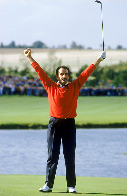 Europe won its first Ryder Cup in 28 years with Sam Torrance clinching the victory with an 18-foot birdie putt.