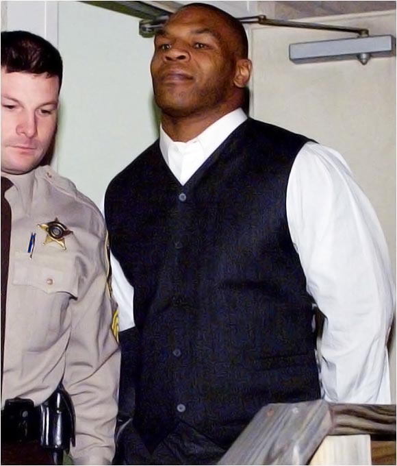 The former heavyweight champion served three years after being convicted in 1992 of raping an 18-year-old beauty-pageant contestant.