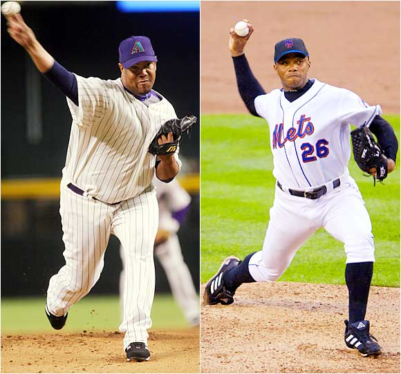 The half-brothers from Cuba own a combined five World Series rings. Orlando won three with the Yankees and one with the White Sox; Livan was the 1997 World Series MVP for the Marlins.