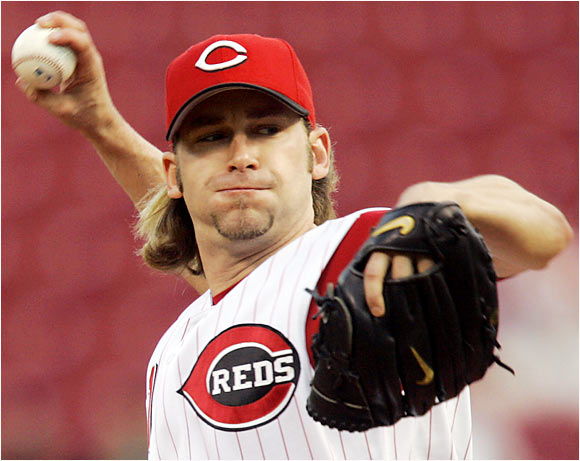 Reds pitcher Bronson Arroyo threw a complete-game 3-0 shutout against the Giants at AT&T Park on Sept. 5. At the time, Arroyo had won his last three starts as the Reds continued to fight for a wild-card berth.