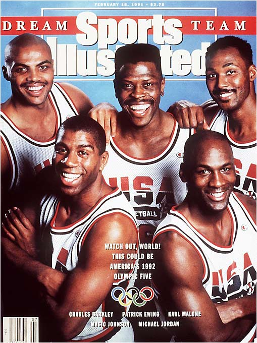 The Feb. 18, 1991 edition of Sports Illustrated.