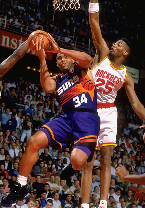 He was only 6-foot-6, but Sir Charles didn't hesitate to operate inside.