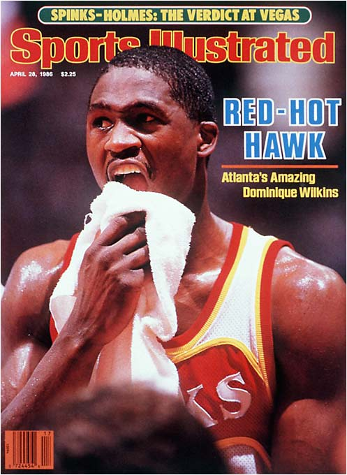 The April 28, 1986 edition of Sports Illustrated.