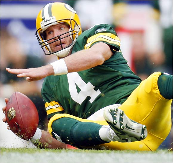 Packers quarterback Brett Favre is 12-14 in his last 26 starts at Lambeau Field after going 75-12 in his first 87 home games. He's lost more home games since the 2003 playoffs than in his first 12 years with the Packers. In his last 11 games Favre has thrown six touchdowns and 23 interceptions and has a passer rating of 56.8.