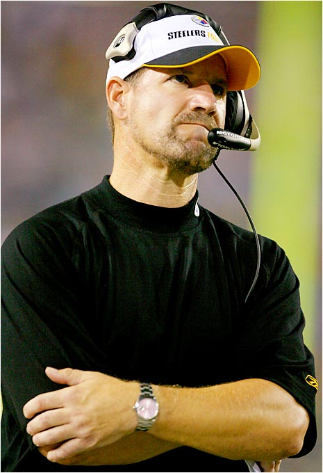 Bill Cowher's and the Steelers' 9-0 loss to the Jaguars marked the first time a Super Bowl champion has been shut out the next season since 1981, when the Raiders were blanked three weeks in a row by the Lions, Broncos and Chiefs by a combined score of 60-0.