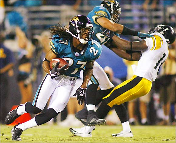 Rasheen Mathis and the Jaguars led the Steelers 3-0 after three quarters Monday night. The Jags were also involved the last time only three points were scored after three quarters, a game they lost 10-3 to the Colts on Sept. 18, 2005, after leading 3-0 after three periods.