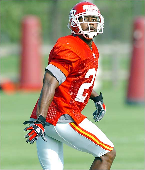 He was in horrible shape last year and still had 10 interceptions for the Jets. This season Law is reportedly slimmer and ready to go. The 32-year-old cornerback has great instincts and should provide the big-play capability the Chiefs' D has lacked.