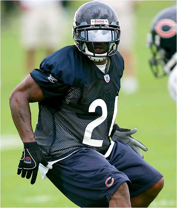 The former Panther has impressed the Chicago coaching staff and is pushing for major playing time. He has a knack for making big plays, and this is the perfect defense for him. The Bears' offense is pathetic, but the D could score enough points to make the team dangerous.