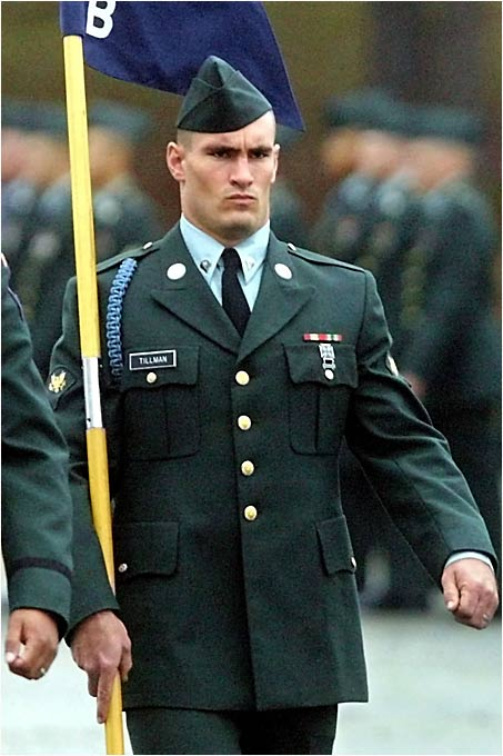 Shortly after his graduation from Army Ranger training in Georgia, Tillman was deployed to Afghanistan to battle the Taliban.