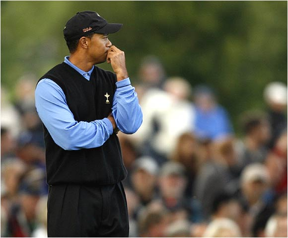 It will take nothing less than another Brookline miracle for Tiger Woods and the rest of the American squad to avoid losing this tournament.