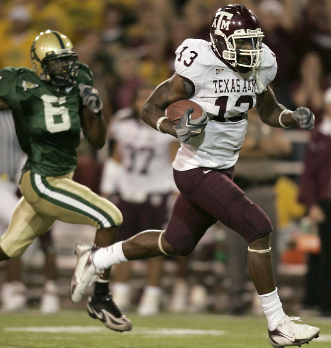 Martellus Bennett and Texas A&M needed two late scores Saturday to put away Baylor in Waco, Texas. Bennett finished with 133 yards receiving and two touchdowns.