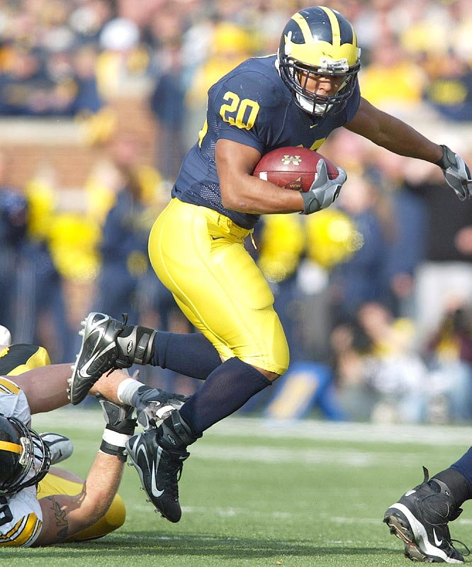 Mike Hart, who had 27 yards on eight carries in the first half, finished with 126 yards and two touchdowns in Michigan's win.