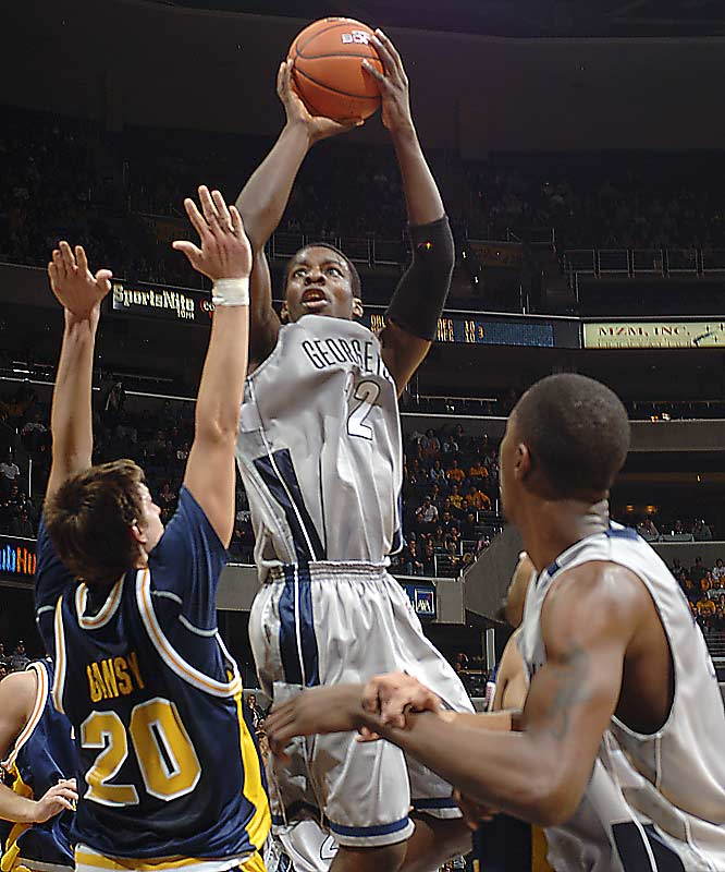 Headliners: Roy Hibbert, Jeff Green (left), Vernon Macklin<br><br> Hibbert, the Hoyas' ever-improving 7-2 giant, has an ultra-athletic sidekick in Green and will welcome a McDonald's All-American in Macklin. Georgetown was Florida's toughest challenger in the NCAA tournament for a reason -- its size -- and has the big boys to make another deep run.