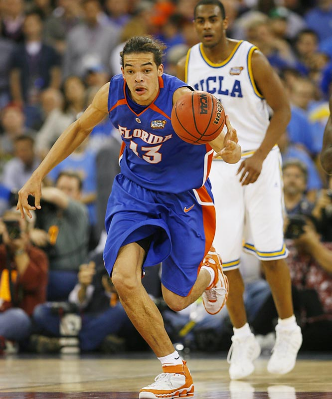 Headliners: Joakim Noah (left), Al Horford, Corey Brewer<br><br> The Gators' front line consists of three first-round draft picks who already have one national championship ring. Is there really any dispute they're No. 1? Noah should have a monster season after averaging 14.2 points and 7.1 rebounds as a sophomore, and the powerful Horford has bulked up even more for a repeat title run.