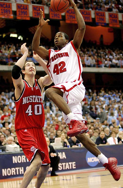 Headliners: Alando Tucker (left), Marcus Landry, Brian Butch, Greg Stiemsma<br><br> Tucker, a fifth-year senior, is a darkhorse Wooden Award candidate, and twin 6-11 towers Butch (a strong shooter) and Stiemsma (a strong defender) add different dimensions to the Badgers' lineup. Landry -- one of UW's best athletes -- is an emerging star off the bench at the three spot.