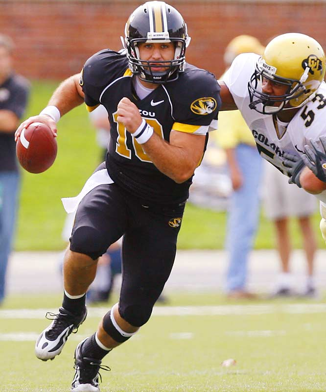 Missouri was supposed to be lost without four-year starter Brad Smith, but the Tigers are off to a 6-1 start, thanks in large part to their sophomore signal-caller. Daniel has completed 65.4 percent of his passes for 1,741 yards and 15 touchdowns. He's also run for 200 yards and three scores.