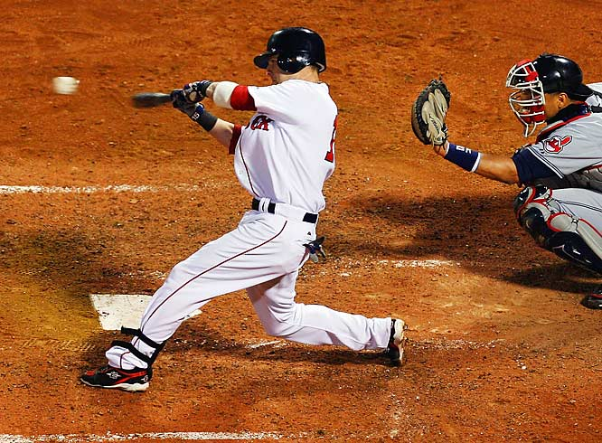Rookie Dustin Pedroia's seventh-inning home run helped cement Boston's Game 7 ALCS victory and send the Red Sox to their second World Series in four years.