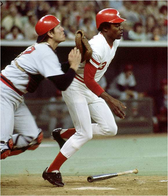 In the 10th inning of Game 3 of the epic Reds-Red Sox World Series, Cincy's Ed Armbrister laid down a bunt and interfered with catcher Carlton Fisk, whose errant throw went into center field. The play led to the winning run for Cincinnati.