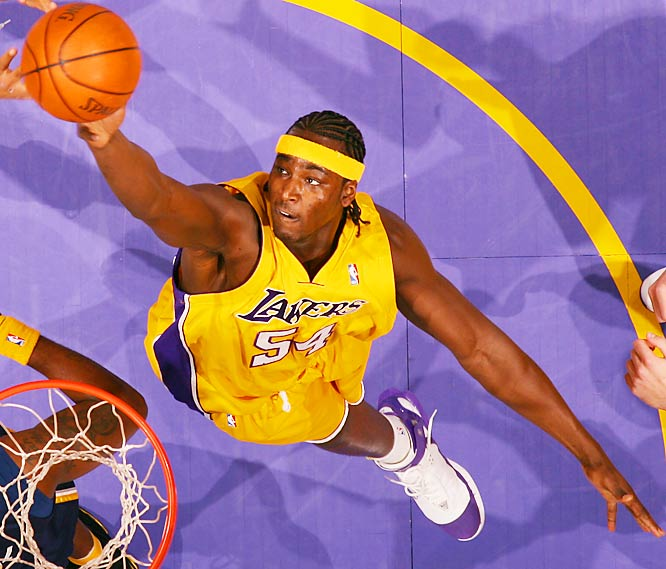 No, he's not going to live up to the promise he taunted us with upon his 2001 entrance into the NBA, but Brown is coming off a sound year in a challenging Lakers system and should continue to grow into a role player. Only 24, he could earn more minutes as he earns the trust of Lakers coach Phil Jackson and Kobe Bryant, while improving upon a 2006 playoff performance that saw him average 13 points and 6.6 rebounds in 32 minutes.