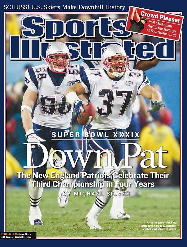 Feb. 14, 2005 SI Cover.