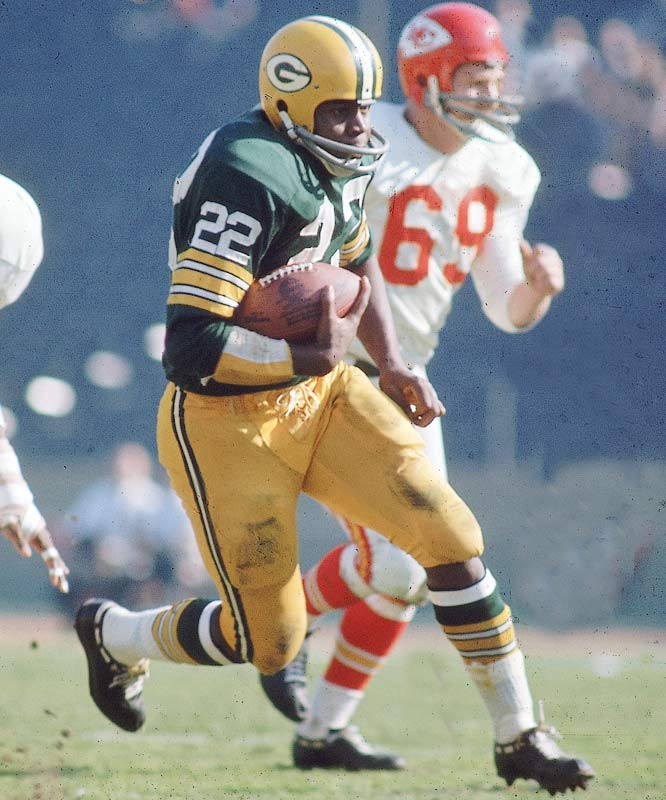 Elijah Pitts led the Packers with 10 total touchdowns in 1966 and scored two more in the Super Bowl I win over the Chiefs.