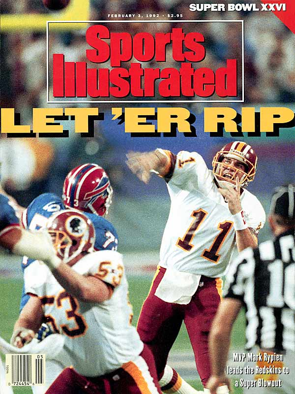 Feb. 3, 1992 SI Cover.