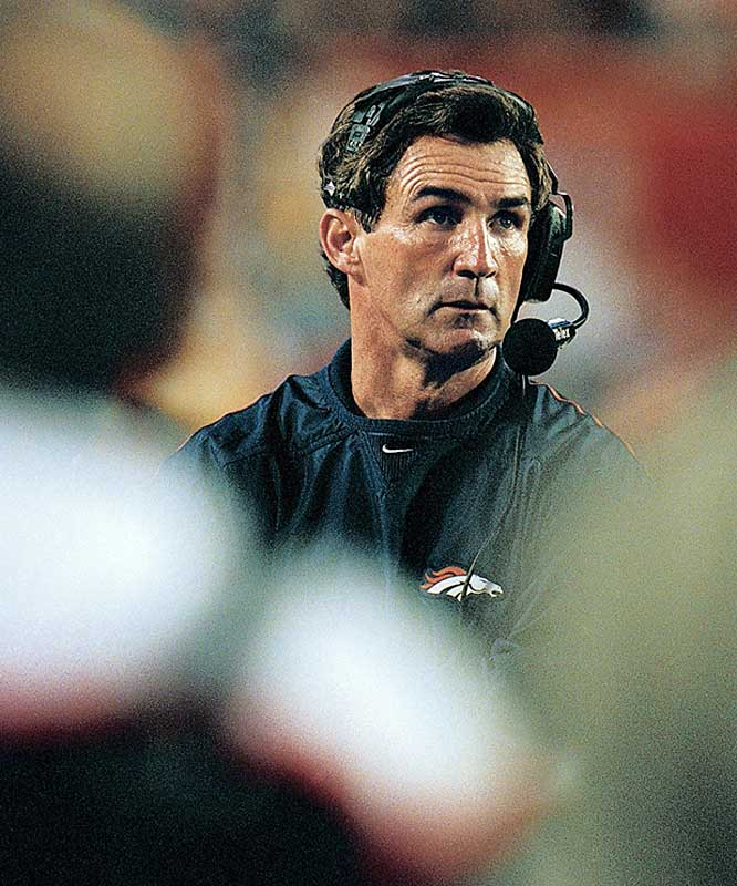 Head coach Mike Shanahan took over at the helm of the Broncos in 1995. In just his second season he had the team in the playoffs, and topped that feat with Super Bowl titles in his third (1997) and fourth (1998) seasons.