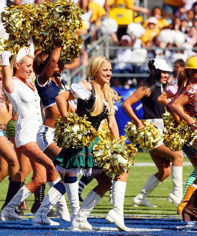 San Diego Chargers Calendar: NFL Cheerleaders - Week 8