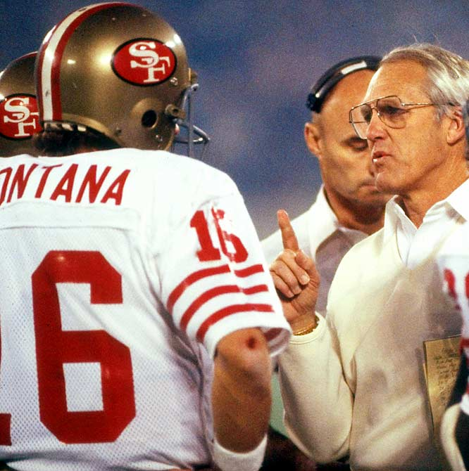 The quiet feud between Montana and Walsh seemed to start when the 49ers brought in Steve Young in 1987 and grew when Walsh benched Montana for Young during an '87 playoff loss to the Vikings. The bitterness continued in 1988, when Montana was dealing with health issues and Walsh was using both Montana and Young in games.
