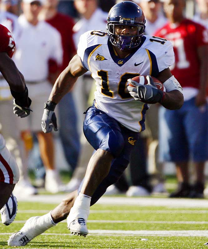 The explosive Lynch is a complete ball-handler who has combined power and speed at Cal.