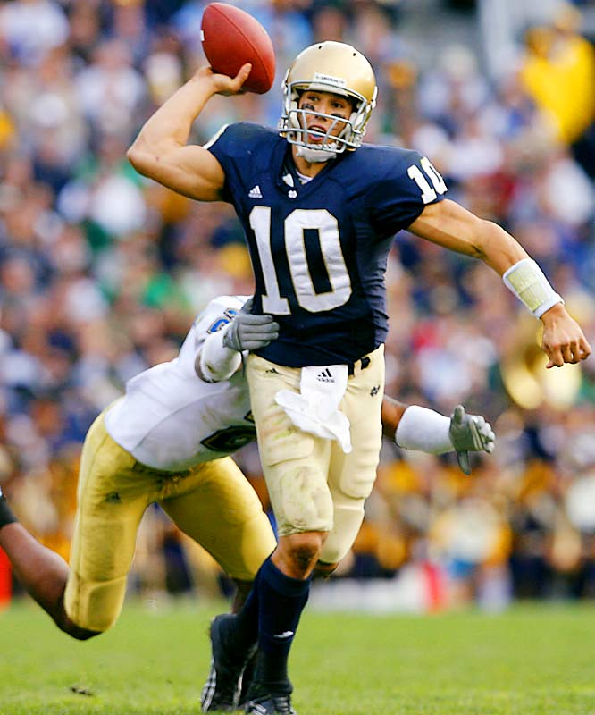 Though he's been a little disappointing this season, the Notre Dame senior still has the tools to be a franchise quarterback at the next level.