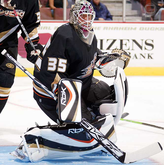 The 2003 playoff hero J.S. Giguere has reclaimed his place as Anaheim's No. 1 netminder (5-0-2, 1.78 GAA) while the early Stanley Cup-favorite Ducks have justified the rosy forecast by getting off to a 6-0-2 start.