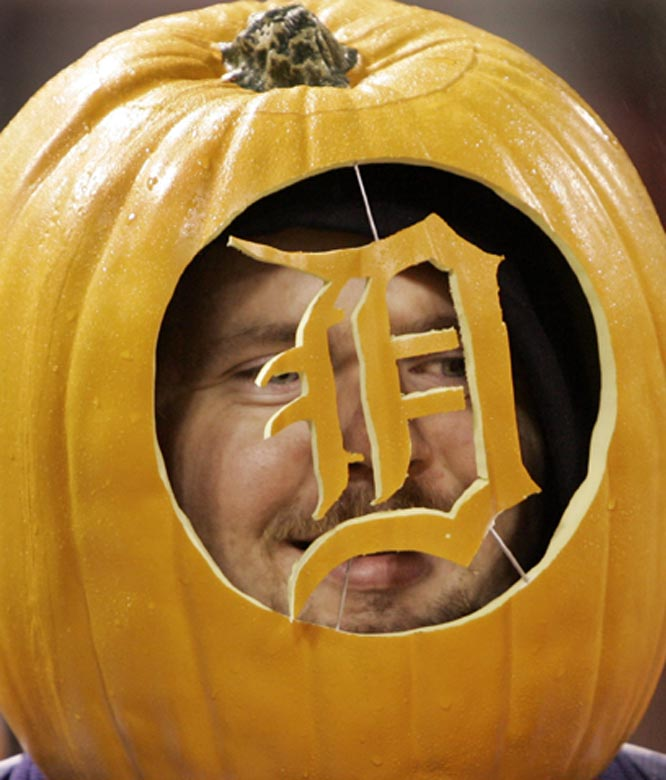 The World Series has been more trick than treat for this Tigers fan.