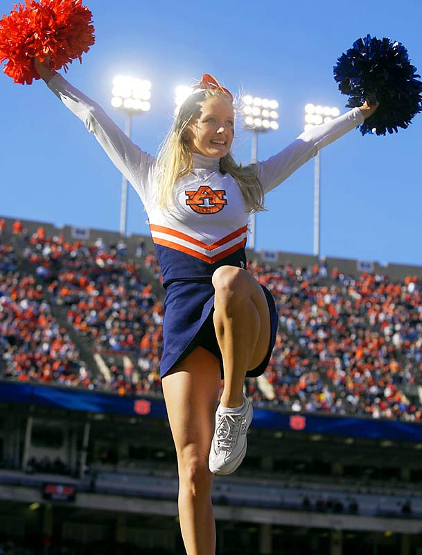Auburn's Krista Klumpp -- a senior from Smiths Station, Ala. -- is a Radio, Television and Film major and a second generation Auburn cheerleader. When not rooting on the Tigers, Krista likes to watch The Price is Right and cheer for the Yankees. To find out more, click on the 20 questions link below.