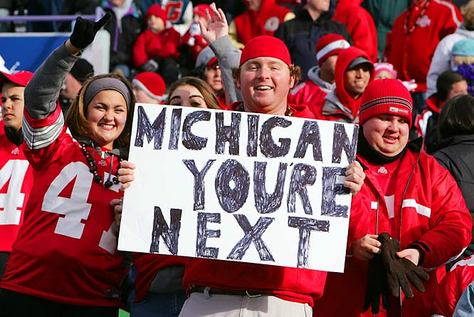 After disposing of Northwestern, 54-10, an Ohio State fan can't help but look ahead to next week's game of the year.