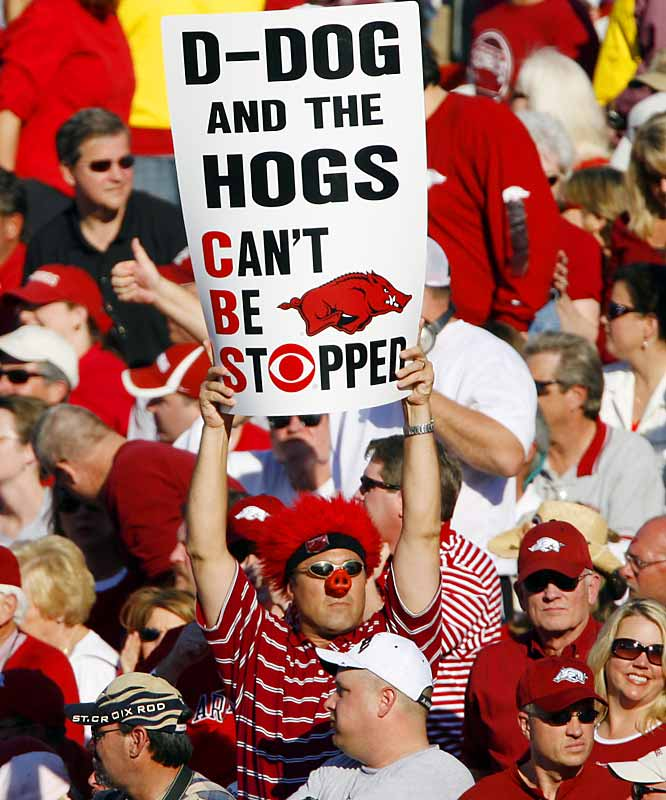 After defeating Arkansas 31-26, LSU proved that the Hogs can, in fact, be stopped.