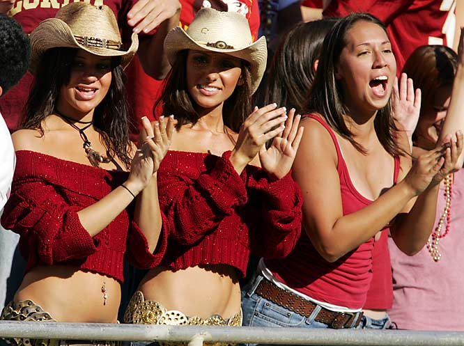 What would an FSU-Florida matchup be without SIOC's favorite Cowgirl and friends?