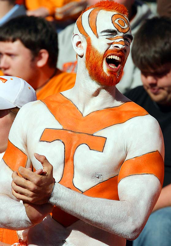 Any fan with an orange mohawk and matching body paint deserves a spot in SIOC's Superfans Gallery.