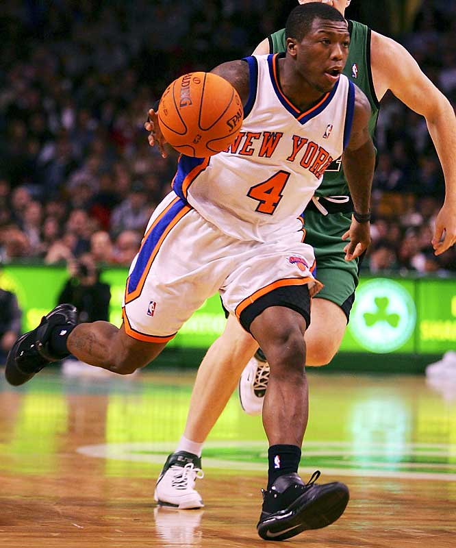 Considering what might have been, given the formal team name of Knickerbockers, these guys get off lucky. Very lucky. But there's probably a shaving theme ad tie-in on the horizon.