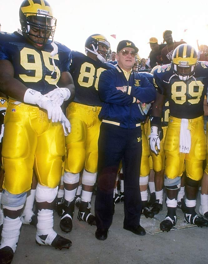 Schembechler became Michigan's 13th head coach -- succeeding Bump Elliot -- following the 1968 season.