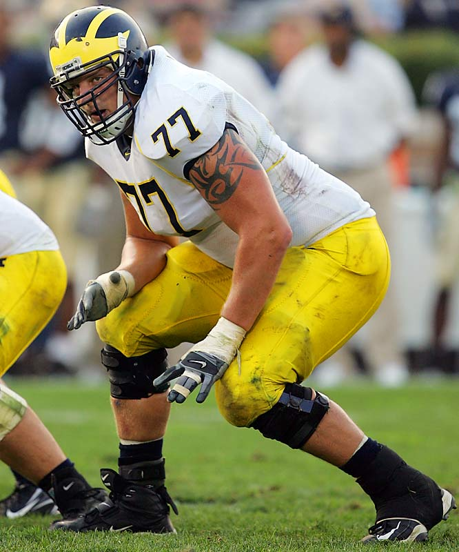 A three-year starter, Long received the rare honor of being named one of Michigan's team captains as a junior. He has NFL size (6- 7, 313 pounds) and was named first team All-Big Ten and Big Ten Offensive Lineman of the Year this season.
