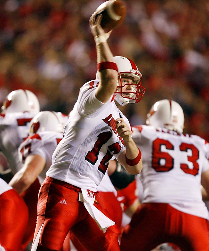 Massive hype has surrounded Brohm since his days at Trinity High, and the big-armed QB has always lived up to the billing. Brohm was named Conference USA Freshman of the Year in 2004 and Big East Offensive Player of the Year last season.