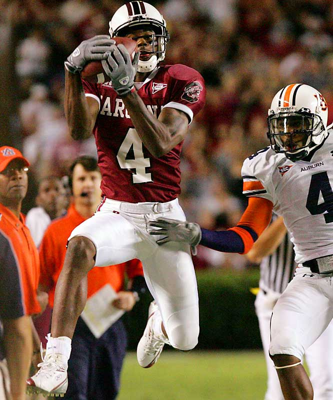 Just a redshirt sophomore, Rice already holds the South Carolina career record for touchdown catches (22), and if he were to return next season, he'd most likely surpass every school receiving mark.