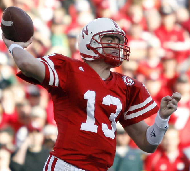 Zac Taylor had his eyes on two Nebraska records against Colorado, tying Tommie Frazier's career TD mark and breaking his own single-season passing yards record.