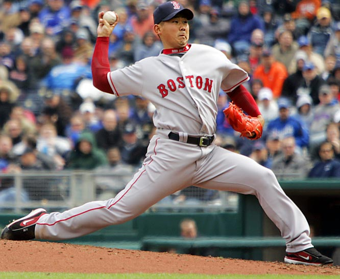 The Boston Red Sox shocked the baseball world by bidding $51.1 million for his services via the Japanese posting system and then signing the former Seibu Lions ace to a six-year, $52 million contract. He won 15 games as a rookie and 18 in his second season but has won just 16 in the three years since while battling injuries and ineffectiveness.