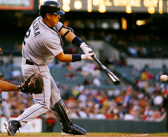 After signing a three-year, $16.5 million deal with the Mariners, Johjima batted .291 with 18 home runs in 2006, his first season in the majors. That proved to be by far the best season of his four years in the bigs. He returned to Japan after the 2009 campaign.