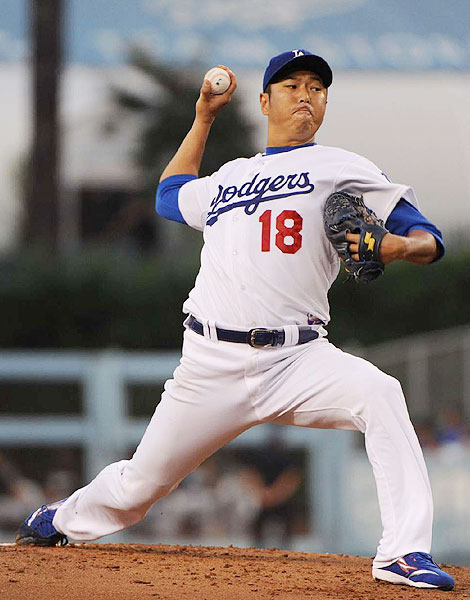 The Dodgers signed the right-handed pitcher as a free agent before the 2008 season, and were rewarded with four solid seasons in which Kuroda made more than 30 starts three times and had a 3.46 ERA.